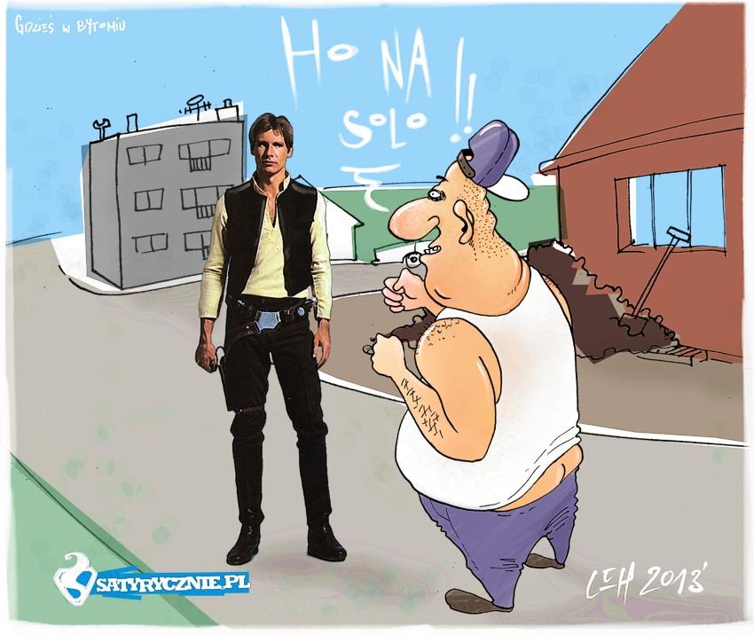 han solo- gwiezdne wojny w bytomiu