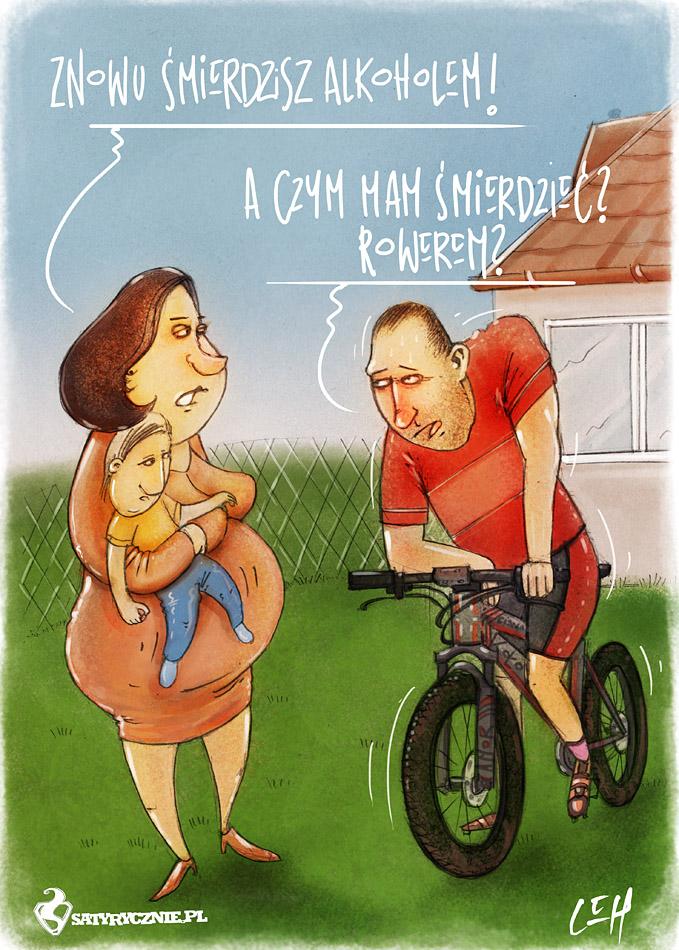 smierdziec rowerem